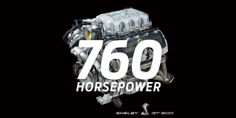 Ford Shelby Mustang GT500 akan Disuguhkan 760 hp!