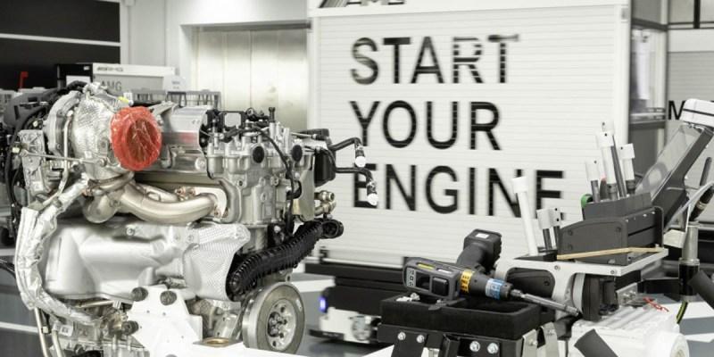 Mercedes-AMG Kembangkan Mesin Empat Slinder Turbocharged