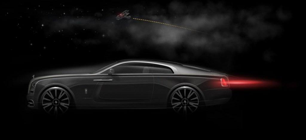 Sketsa Rolls-Royce Wraith Eagle VIII, Jelang Diwujudkan
