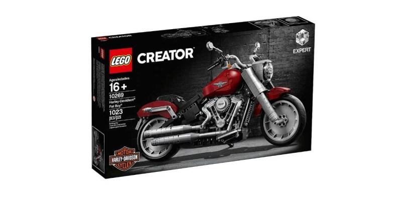 Lego Creator Harley-Davidson Fat Boy, ada 1.023 Keping