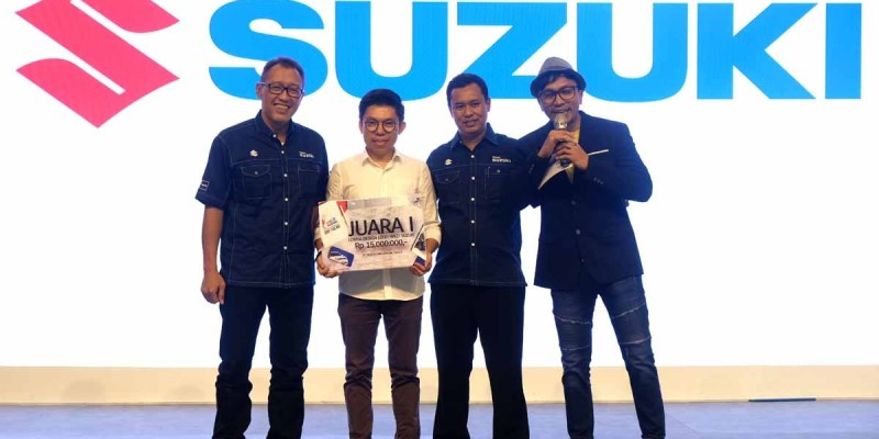 Halo Suzuki Memperkenalkan Logo Baru di GIIAS 2019