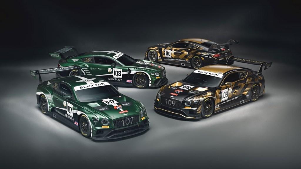 Bentley Continental GT3 Siap Bertarung di 24 Hours of Spa