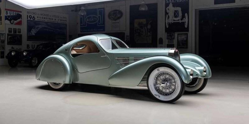 Bugatti Aerolithe Type 57 akan Tampil di Atlanta