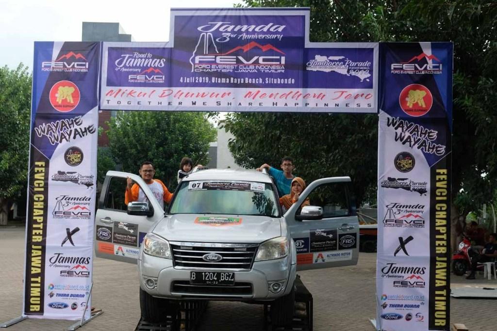 FEvCI Chapter Jakarta di Jamnas Banyuwangi