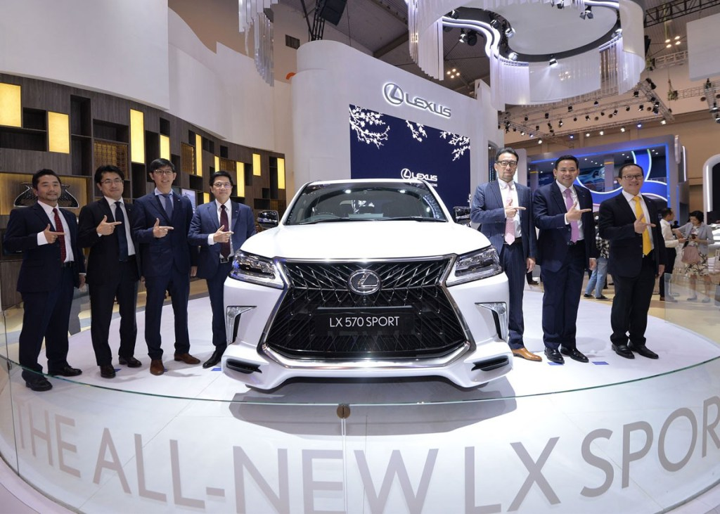 Nikmati Booth Istimewa Lexus di GIIAS 2019