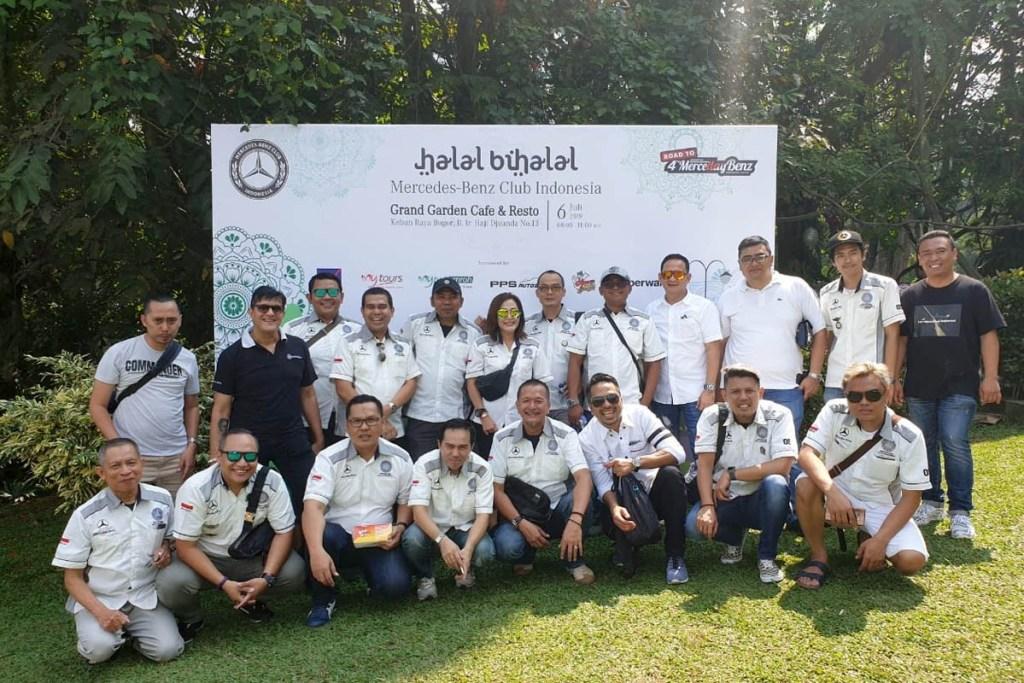 Halal Bihalal MB CLub INA Dalam Balutan Kekeluargaan