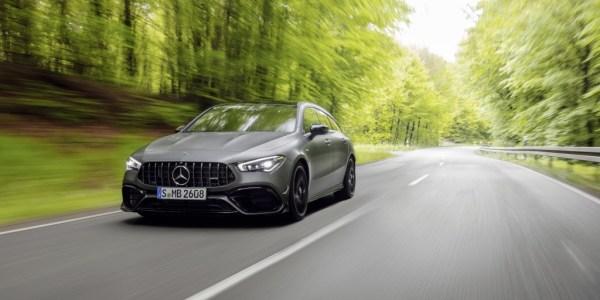 Mercedes-AMG CLA 45 S 4MATIC+ Shooting Brake, Paket Lengkap!