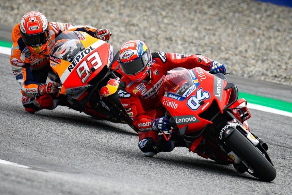 MotoGP Austria 2019, Andrea Dovizioso Jadi Lawan Kuat Marquez
