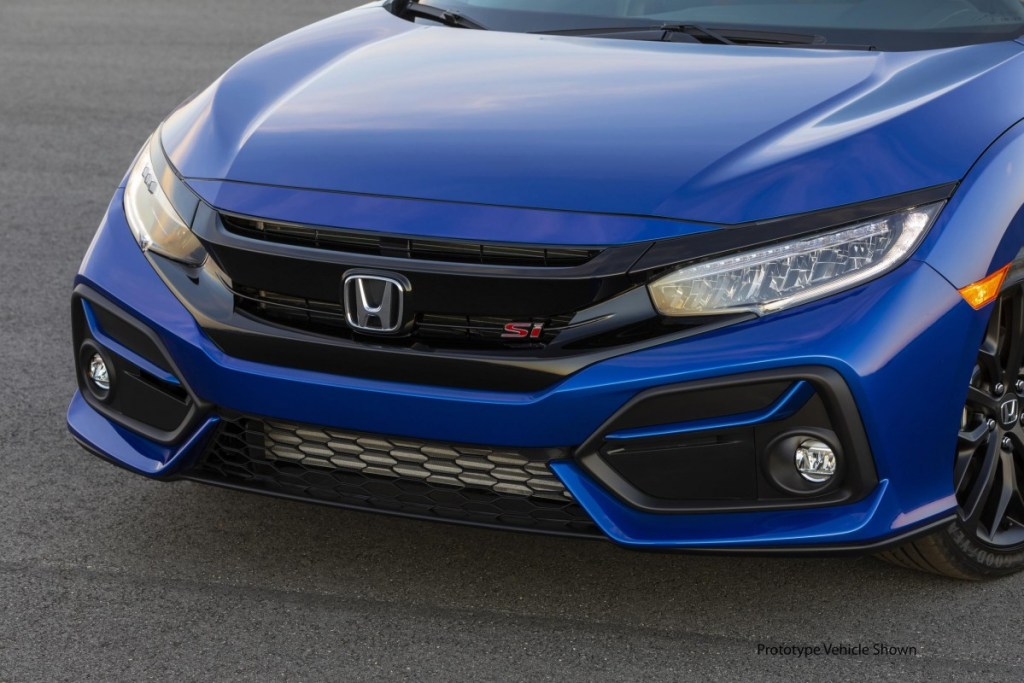 Honda Civic Si Sedan dan Si Coupe, Bersolek