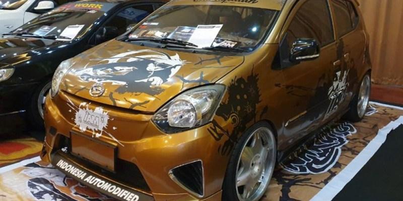 Modifikator Mobil Daihatsu Unjuk Gigi di Medan