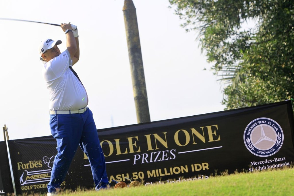 152 Peserta Ramaikan Forbes MBSL Golf Tournament 2019