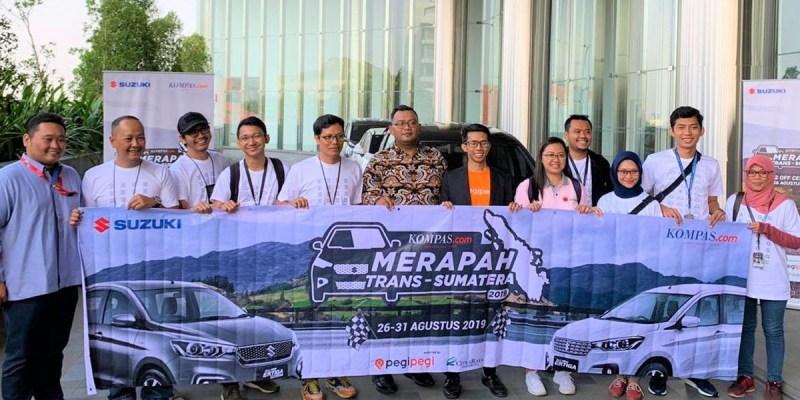 Merapah Trans Sumatera, Uji Ketangguhan Produk Suzuki