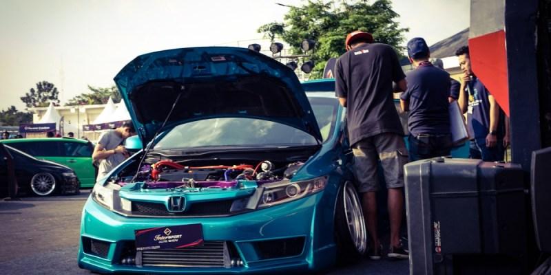 Konsep Street Racing Jepang Dominasi Intersport Motor Show Yogyakarta
