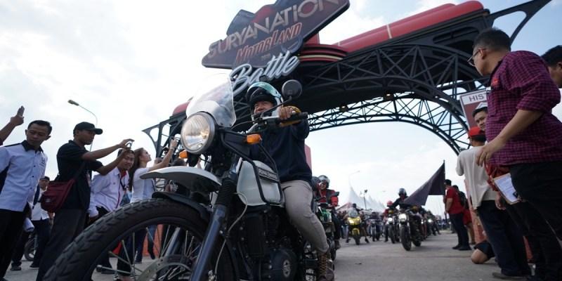 Pecah! Suryanation Motorland Palembang Dibanjiri Ribuan Pengunjung