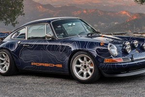 Singer Vehicle Design Punya Pajangan Khusus di Monterey