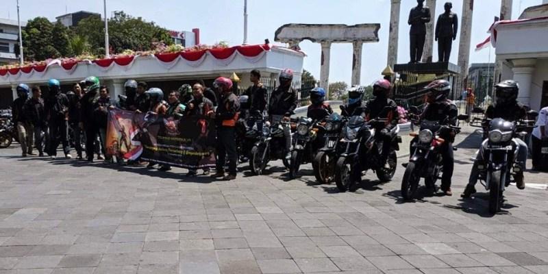 HMPC Indonesia Tetap Eksis dengan Touring Kemerdekaan