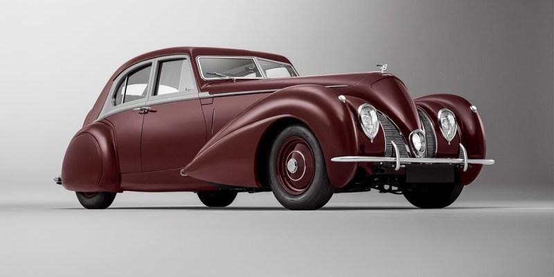 Bentley Corniche Tahun 1939, Restorasi Mulliner