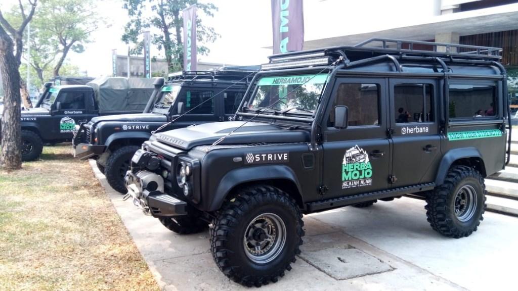 Land Rover Indonesia Siap Jelajahi Sumatera dengan Herbamojo