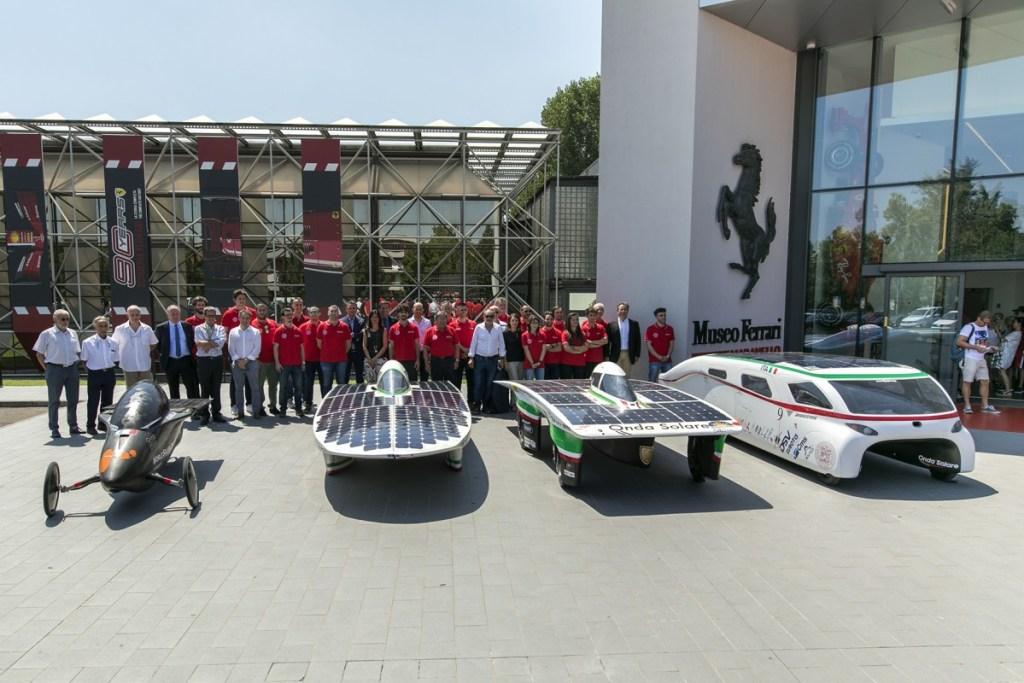 """""""Solar Challenge"""" Karya Pelajar di Museum Ferrari"""
