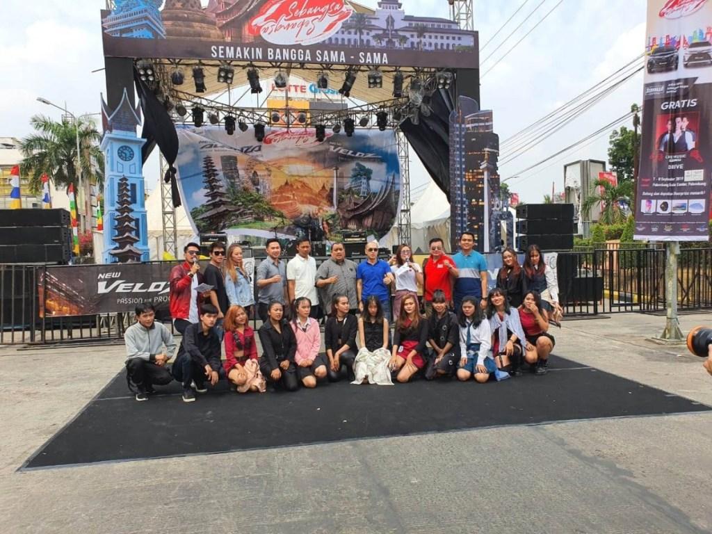 Festival Avanza-Veloz Sebangsa Singgah di Bumi Sriwijaya