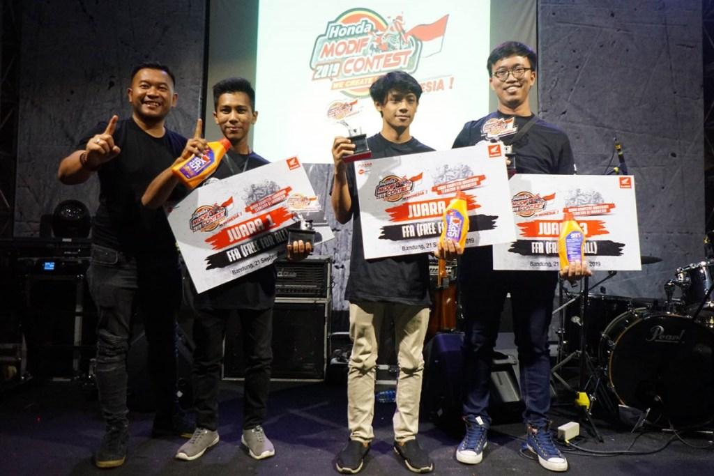 Modifikator Jawa Barat Adu Kreatifitas di Honda Modif Contest 2019
