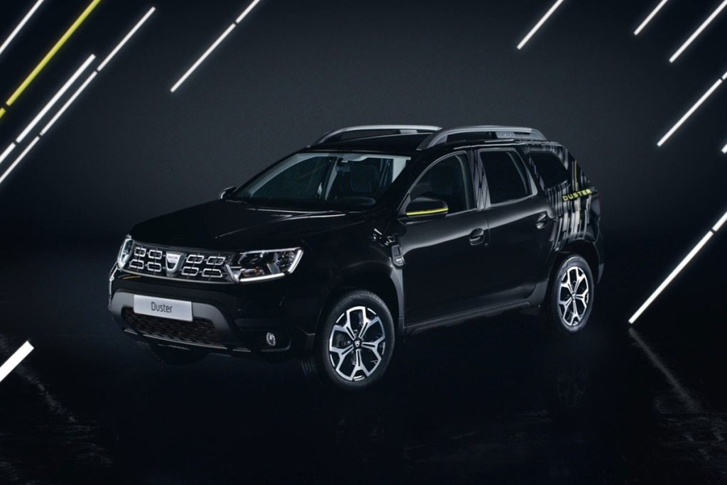 Dacia Duster Black Collector, Hanya 500 Unit