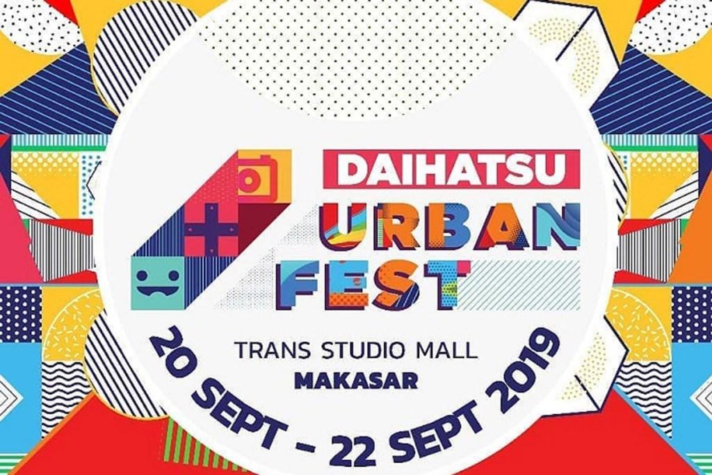 Daihatsu Urban Fest Sapa Kaum Milenial Makassar