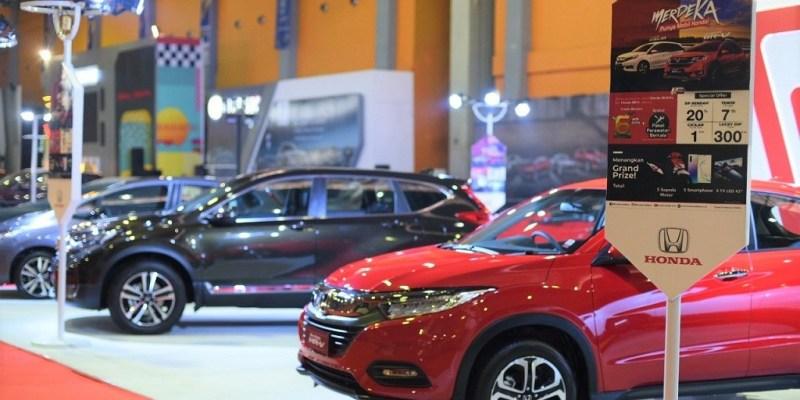 Honda Suguhkan Grand Prize 5 Unit Motor di GIIAS Makassar