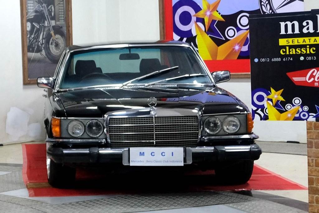 Mercedes-Benz Klasik di 'Mini Museum' HUT MCCI ke-20