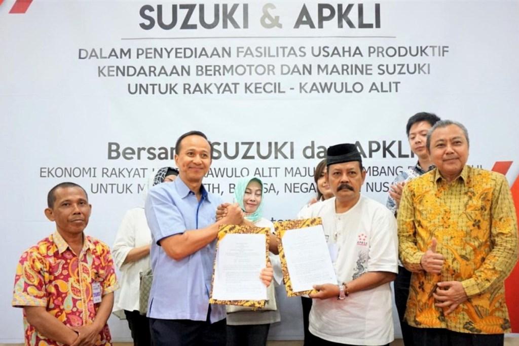 Suzuki Kerjasama Penjualan Produk Dengan APKLI