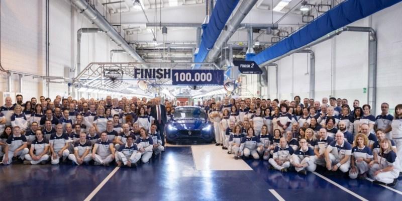 Maserati Ghibli Sudah Tembus 100.000 Unit
