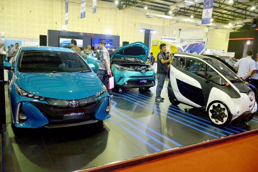 IEMS 2019, Toyota Tegaskan Komitmennya di Industri Mobil Listrik