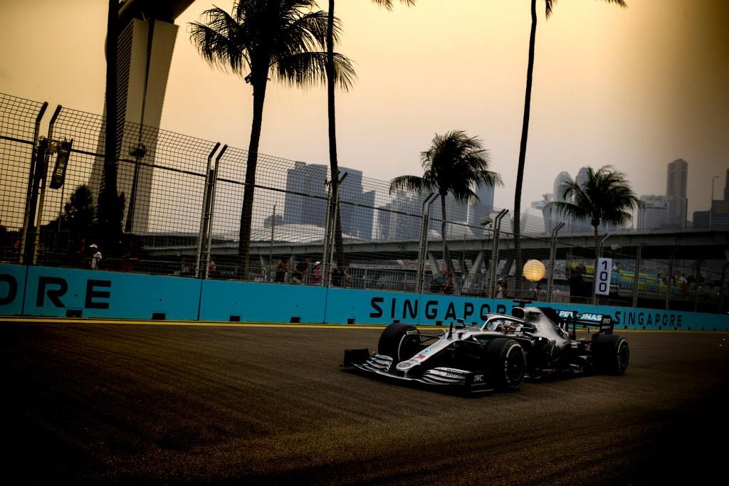 Hasil FP2 F1 Singapura 2019: Hamilton Terancam Red Bull