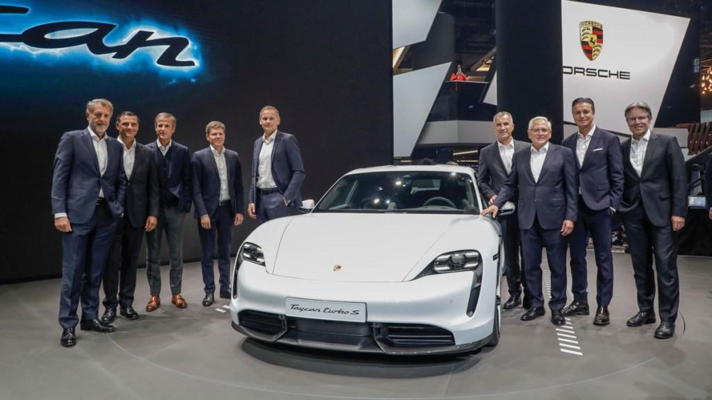 Ini Andalan Porsche di Frankfurt Motor Show 2019