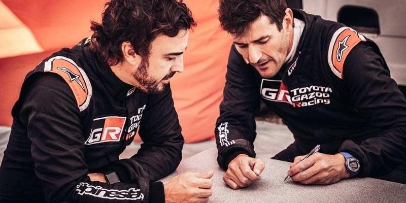 Marc Coma Jadi Navigator Fernando Alonso di Reli Dakar 2020