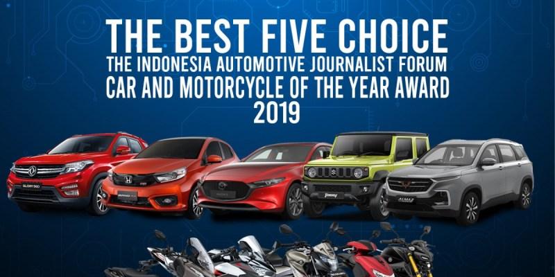Inilah Lima Motor dan Mobil Terbaik versi Wartawan Otomotif
