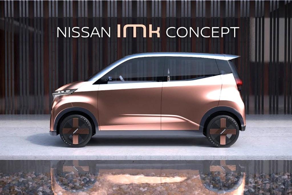 Konsep Nissan IMk Mejeng di Tokyo Motor Show