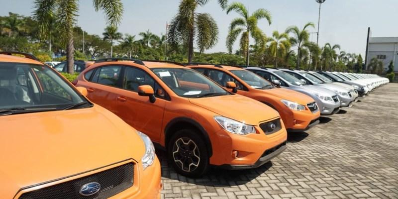 Hasil Lelang Mobil Subaru Oleh Bea Cukai Tembus Rp 22 Miliar