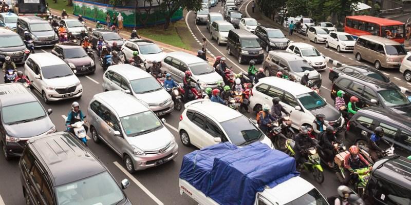 PSBB Transisi, Kemacetan Lalu Lintas Meningkat