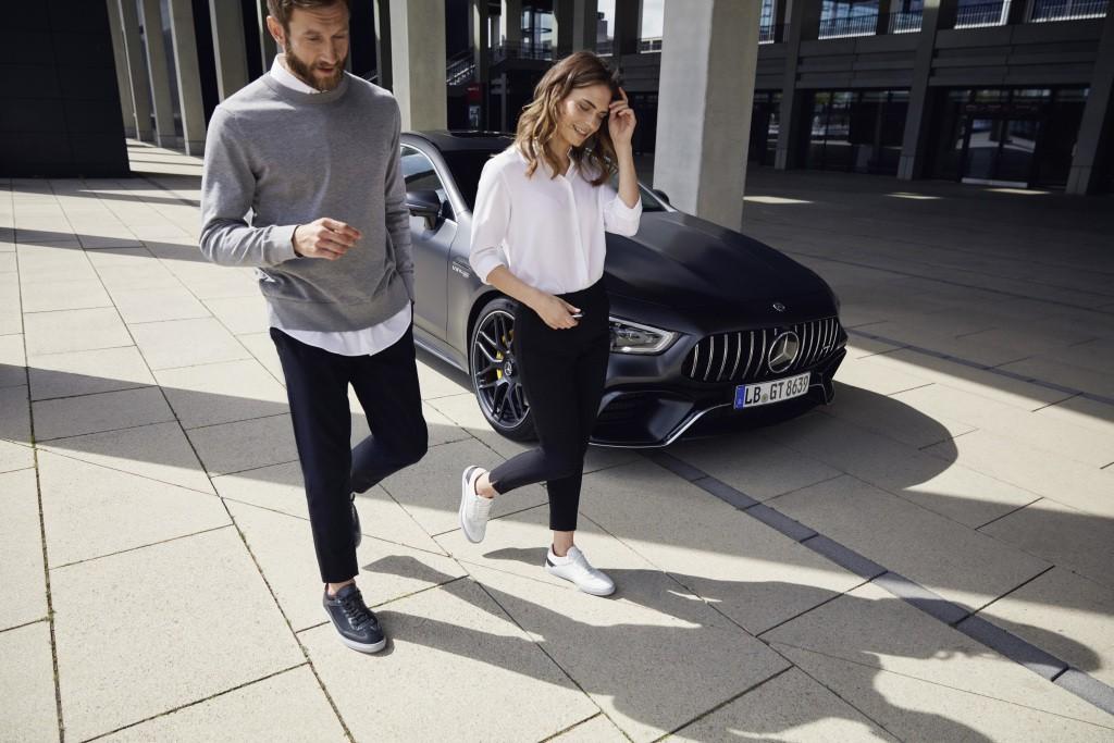 Santoni for AMG, Sepatu Bisa Buat Casual dan Resmi