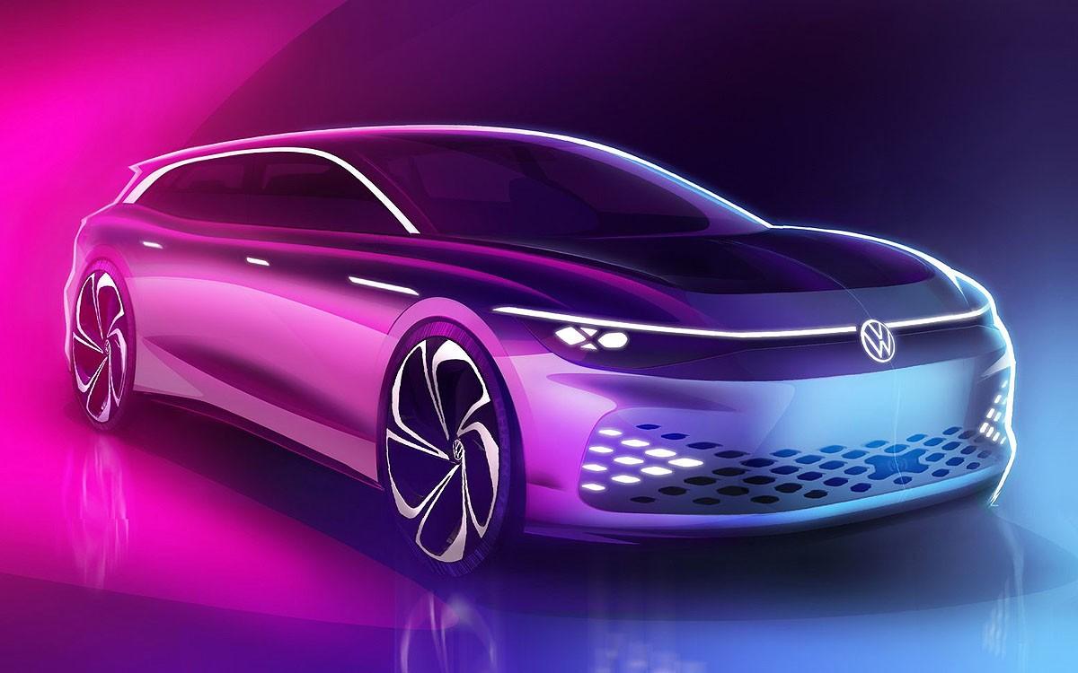 VW ID Space Vizzion Concept Siap Debut di LA Auto Show 2019
