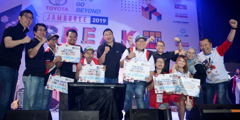 Komunitas Toyota Makin Kompak dengan Toyota Jamboree 2019