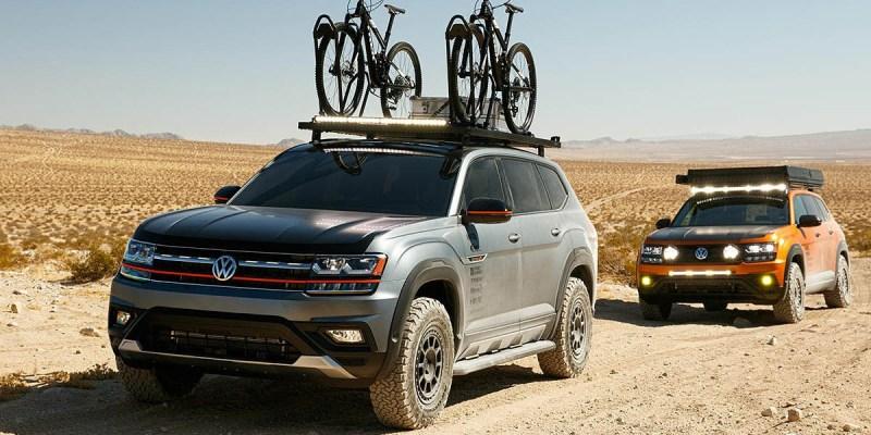 Volkswagen Boyong 4 Modifikasi 'Overlanding' di SEMA 2019
