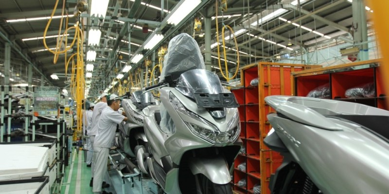 Perdana, Honda PCX Buatan Indonesia Diekspor ke Brazil