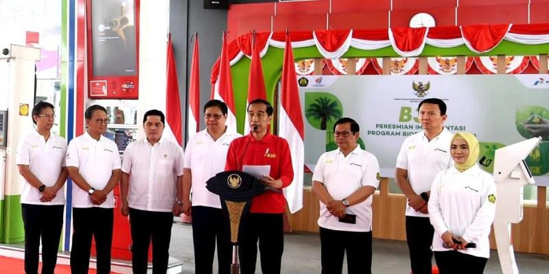 Jokowi Resmikan Program Biodiesel B30