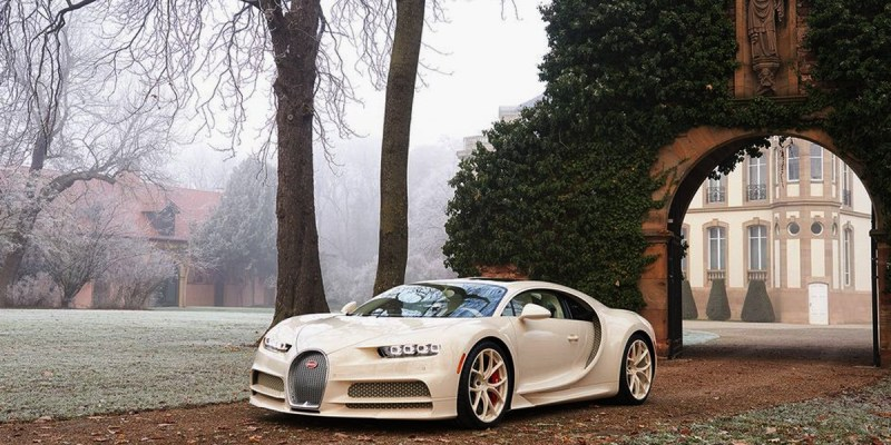 Ini Dia Tampang Bugatti Chiron Hermes Edition