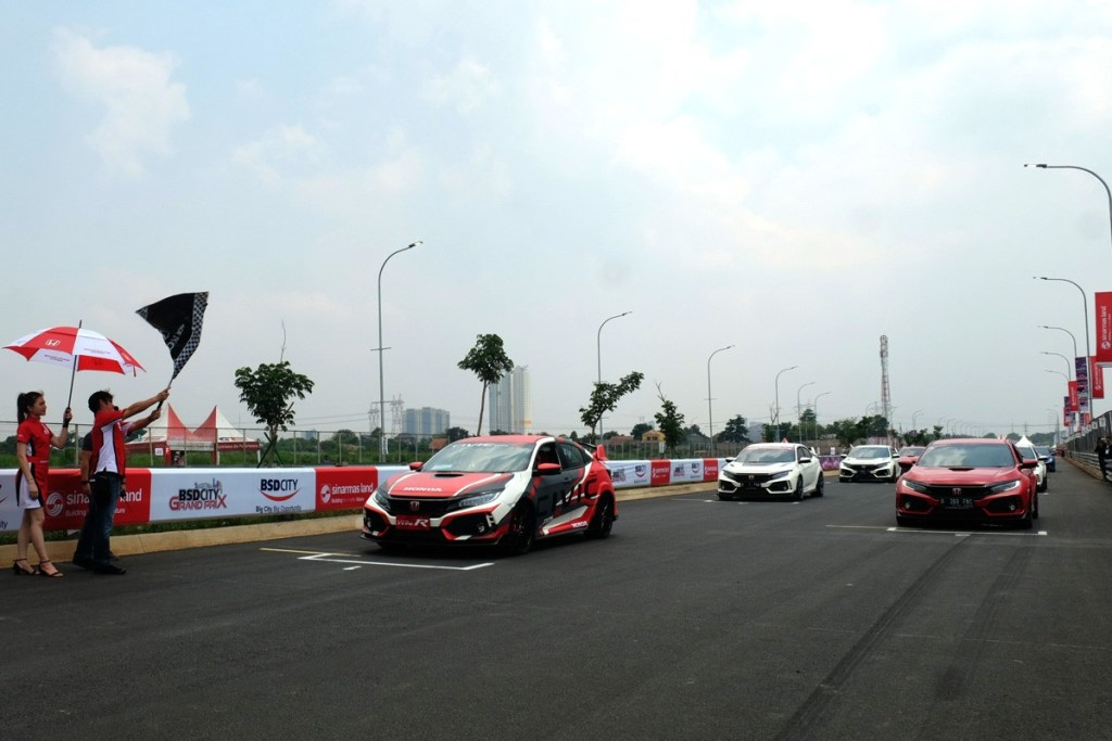 Komunitas Civic Type R Jajal Sirkuit BSD Grand Prix