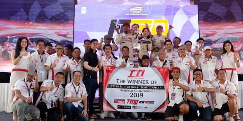 TTI Raih Juara Nasional Ketiga di ITCR Max