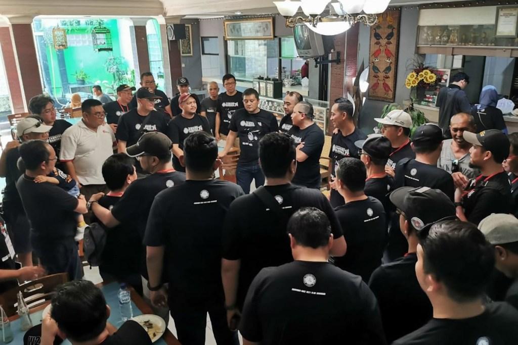 Dukungan Penuh MB W211 CI di Jamnas MB Club INA ke-14