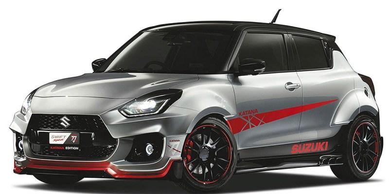 Suzuki Swift 'Katana Edition' Siap Memukau Tokyo Auto Salon 2020